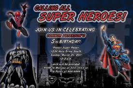 ideas about batman superman spiderman birthday invitations for