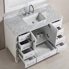 Marble Bathroom Vanity by 48