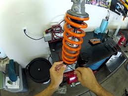 how to remove and install a ktm pds shock spring youtube