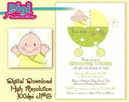 baby shower ideas for unknown gender baby shower invitation gender unknown digital diy