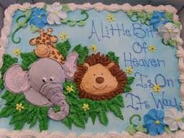 jungle baby shower cakes oakmont bakery