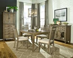 5 piece dining set with leg table and slat back side chairs by