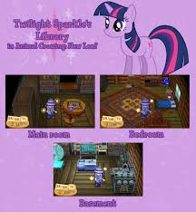 Twilight Sparkle Bedroom Twilight Sparkle U0027s Library In Acnl By Kwark85 On Deviantart