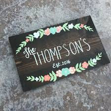 personalized wooden wedding signs best 25 name signs ideas on wooden name signs last