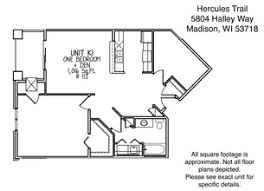 One Madison Floor Plans Hercules Trail Rentals Madison Wi Apartments Com
