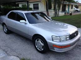 lexus ls400 1990 purchase used 1990 lexus ls400 v8 silver near mint condition in