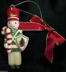 2013 soldier w sheild ornament spode