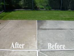 How To Clean Colored Concrete Patio Dab Exterior Cleaning Solutions