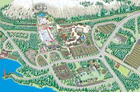 map attractions attractions map mountain park