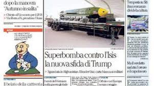 l amaca repubblica la repubblica prima pagina di oggi 14 aprile 2017 romadailynews