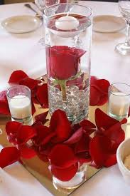 Long Vase Centerpieces by Best 25 Red Centerpieces Ideas Only On Pinterest Red Rose