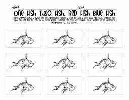 clip art black white fish fish red fish blue fish