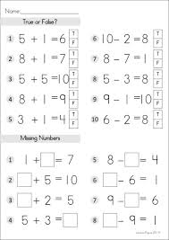 addition and subtraction worksheets for grade 210 best 1st grade morning work images on math