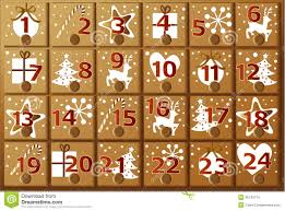 advent calendar advent calendar stock images image 35143174