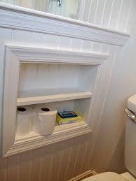 recessed toilet paper holder with shelf from thebacksofmyeyelids blogspot com good bathroom remodel