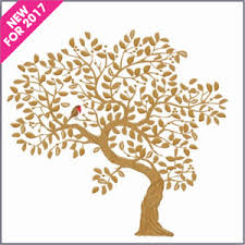 cpag shop new for 2017 gold tree embossed in beautiful gold foil