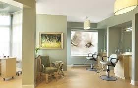 salon nice artwork and soothing color palette senior living