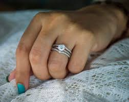 Wedding Ring Enhancers by Contour Ring Etsy
