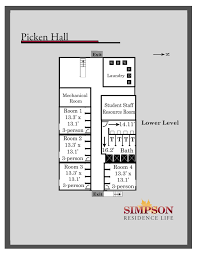 Fitness Center Floor Plans Housing Options