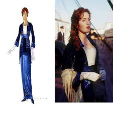 Titanic Halloween Costumes Film Costume Design Rose Titanic Dressing Room
