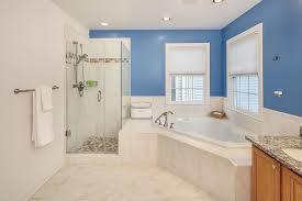 Blue Bathroom Fixtures Cool Blue Master Bathroom Designs And Ideas Sublipalawan Style