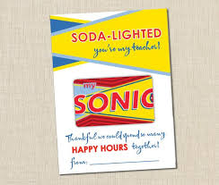 sonic gift cards sonic gift card holder instant brown paper studios
