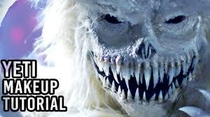 Yeti Halloween Costume Abominable Snowman Yeti Fx Makeup Tutorial