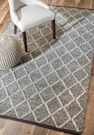 Modern Flat Weave Rugs Rugs Curtains Charming Grey Flat Weave Wool Rug For