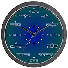 Compare Prices On Wall Watch For Kitchen Home Decor Online by Amazon Com Decodyne Math Clock Discontinued By Manufacturer