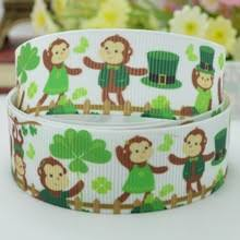 monkey ribbon popular shamrock hats buy cheap shamrock hats lots from china
