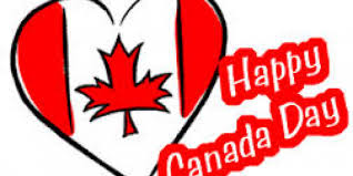 Canada Day Meme - happy canada day heart canada flag graphic