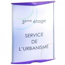 signaletique bureau de bureau