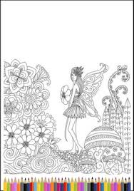fairy coloring pages teelie u0027s fairy garden