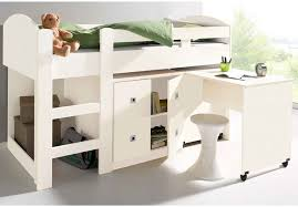 lit enfant mezzanine bureau lit bureau enfant couleur combine leho blanc gautier meuble