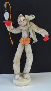 vintage chenille pipe cleaner elf figure made japan 5 1 4