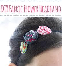 flower headbands diy diy fabric flower headbands martha