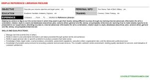 reference librarian cover letter librarian resumes library resume