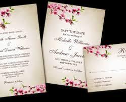 cherry blossom wedding invitations cherry blossom wedding invitations cherry blossom wedding