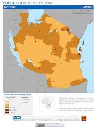 Tanzania Map Impressum