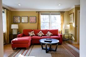 Best Red Living Rooms Interior Design Ideas - Red sofa design ideas