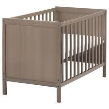 chambre bébé ikéa sundvik lit bébé gris brun 60x120 cm ikea