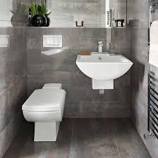 grey tile bathroom ideas grey tiled bathroom bathroom decorating ideal home