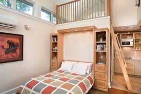 Old Mobile Home Floor Plans by Tiny Cottage With A Wall Bed In The Living Room Youtube