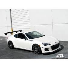 subaru brz white black rims 2013 2016 subaru brz apr carbon fiber body kit ab 826000