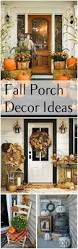 Fall Decorated Porches - simple halloween decorations in eeadadbbfadaecfccbb fall