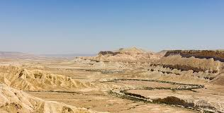 negev desert map negev
