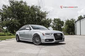audi a4 modified a4 with vossen 20 u2033 vfs2 wheels in gloss graphite u2013 advanced