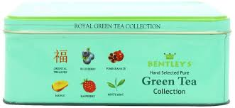bentley green amazon com bentley u0027s royal assorted green tea collection 120