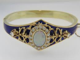 yellow bangle bracelet images Vintage bracelets thomas jewelers jpg