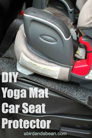 Rug Doctor On Car Seats Diy Yoga Mat Car Seat Protector Car Seats Yoga And Car Seat